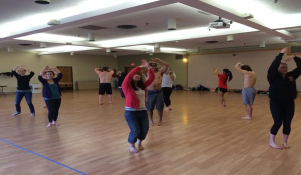 With Lu'au around the corner, Pacific's hula class practices twice a week to perfect their dance. Dance instructors are students teaching other students dances they have personally choreographed. Students in Hula receive academic credit for performing in Lu'au.
