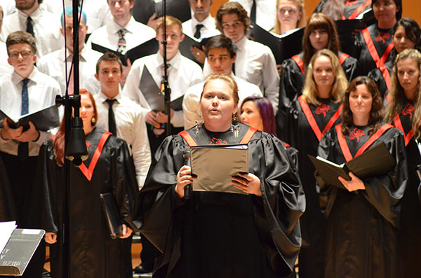 Fall Choral Concert: Students discuss musical diversity