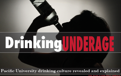 Drinking Underage: Pacific University drinking culture revealed and explained