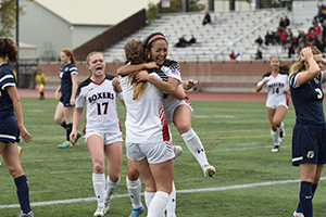 Soccer starts conference play with win