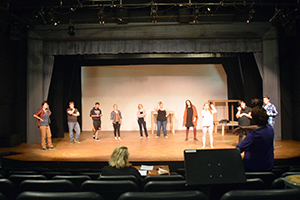 Theatre Department prepares for first show
