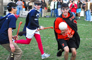 Quidditch makes its debut at Pacific University