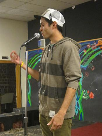 New Slam poetry club hosts 'Better Late than Never Slam' poetry night