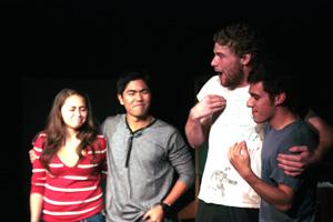 Lunchbox theatre improv: Performance draws record crowd