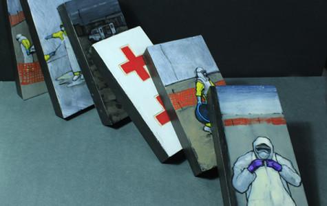 Ebola Domino Project helps disease relief