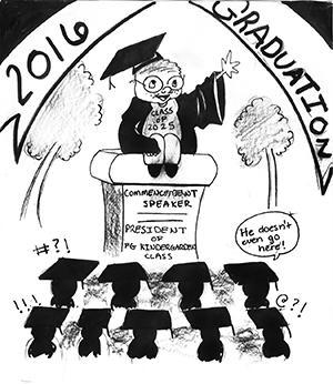 Editorial: Choosing graduation keynote speaker needs more thought, process