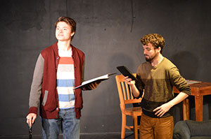 Lunchbox prepares for staged reading