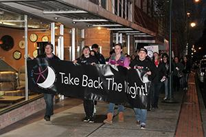 Community rallies against sexual assault