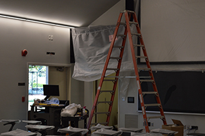 Summer renovations include lecture hall