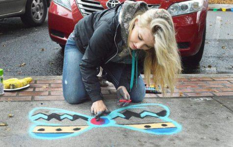 Chalk art festival returns to color downtown
