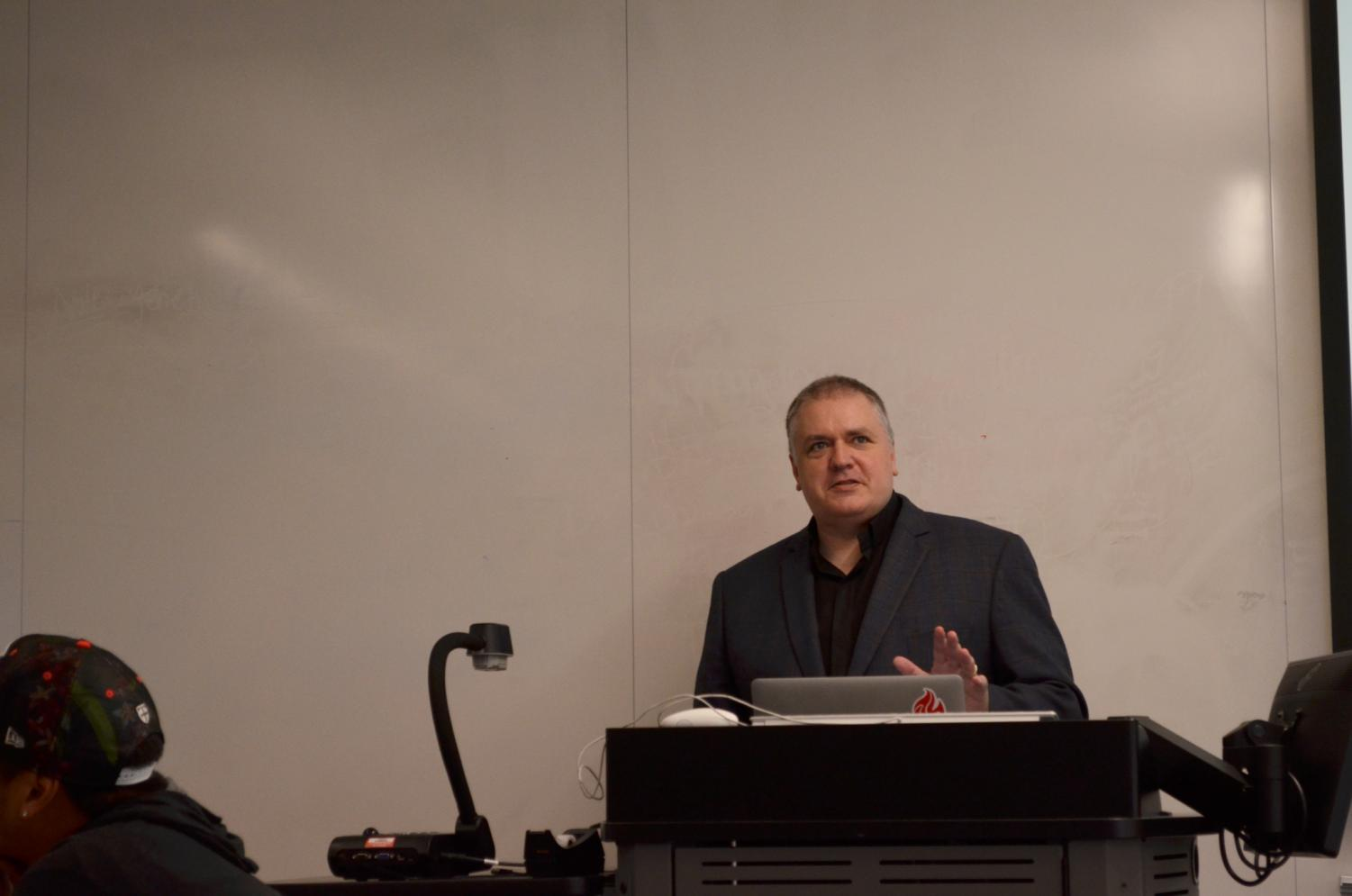 The Rev. Dr. Chuck Currie will miss a portion of this year, as he will be on medical leave from December to August.