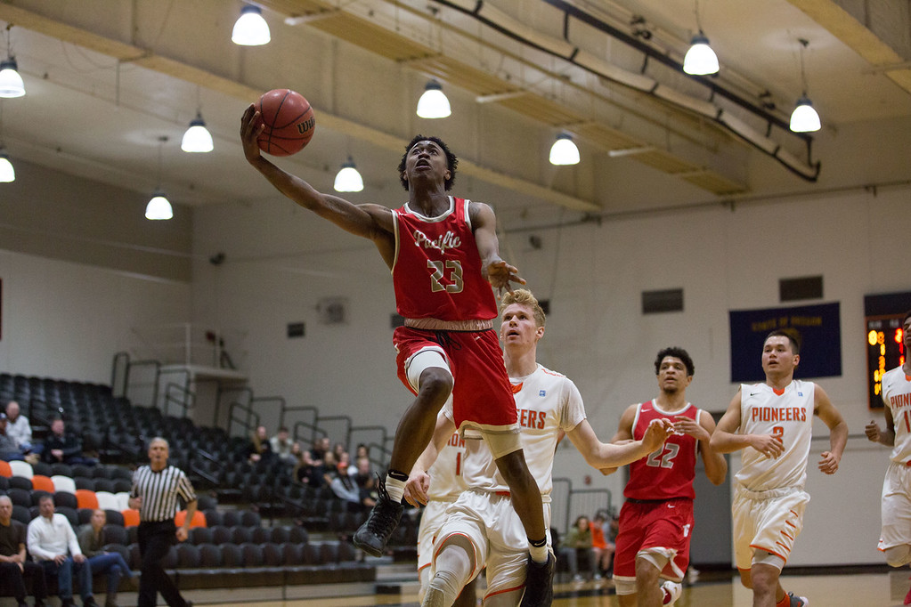 The Pacific University men's basketball took on Lewis & Clark College Dec. 4 in Portland. The Boxers came out with their eighth straight win with a final score of 96-77.