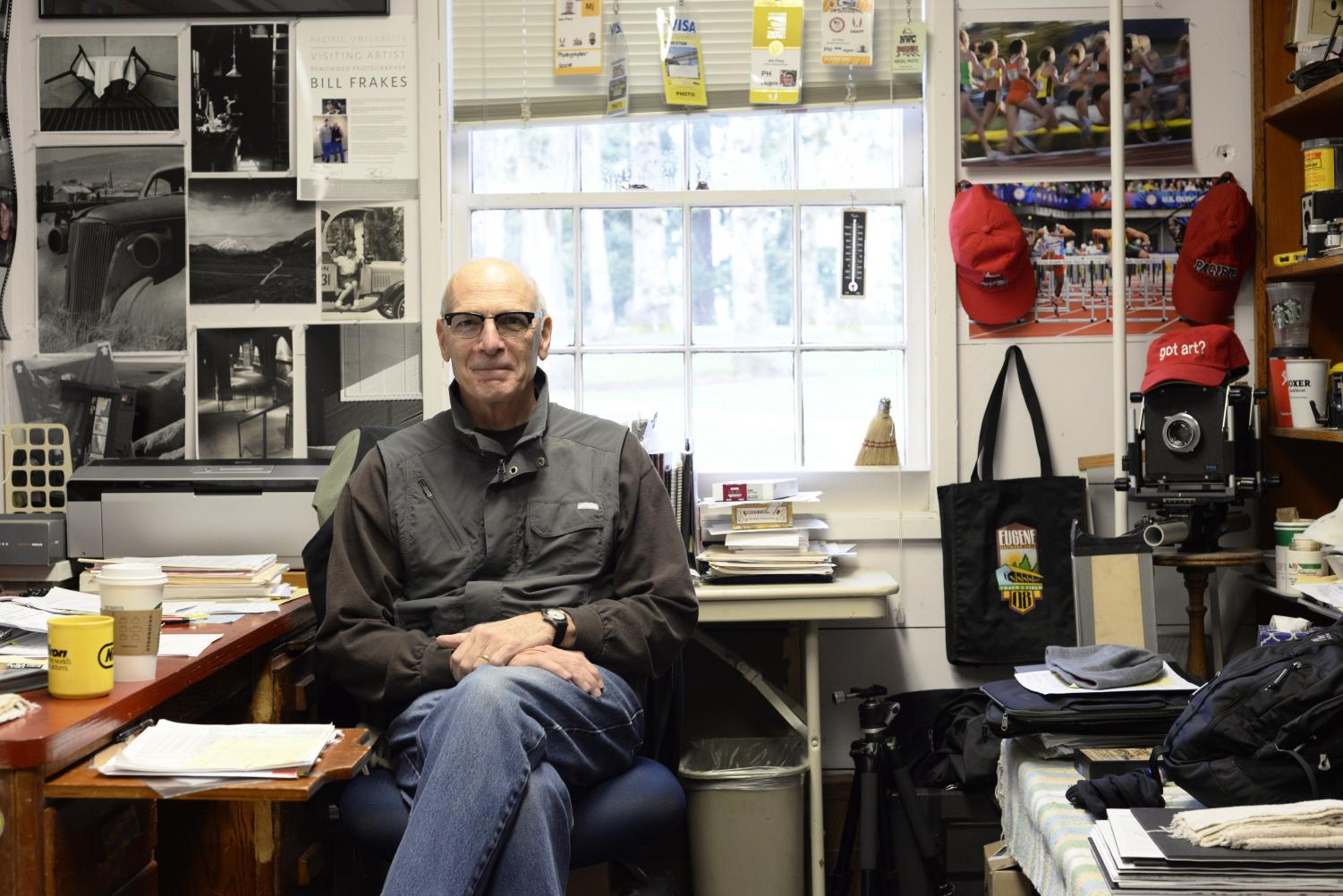 Assistant professor of art and photography Jim Flory will retire from full-time work at Pacific University after the 2017-18 school year.