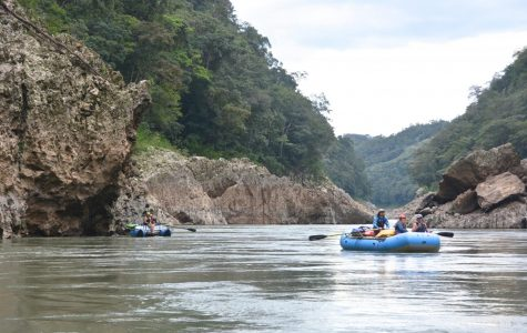 Students travel to Mexico for rafting trip