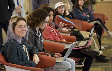 The College of Arts and Sciences held an open forum to discuss campus issues