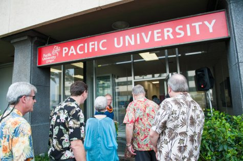 Pacific students affected by forest fires