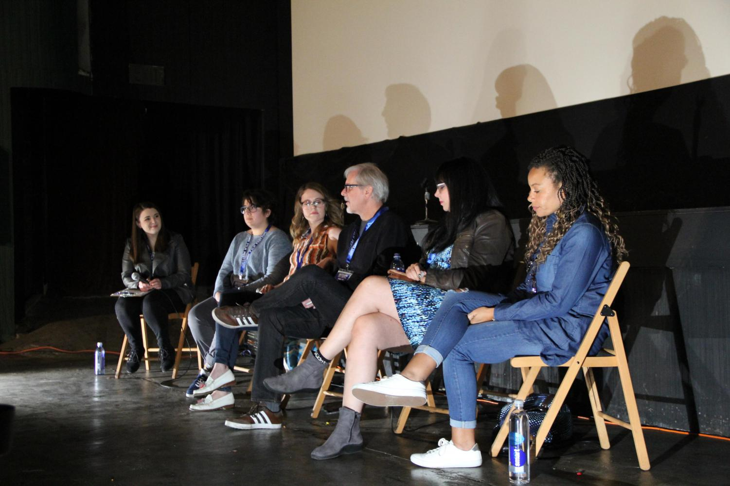 A panel during 2018's Gateway Film Festival.