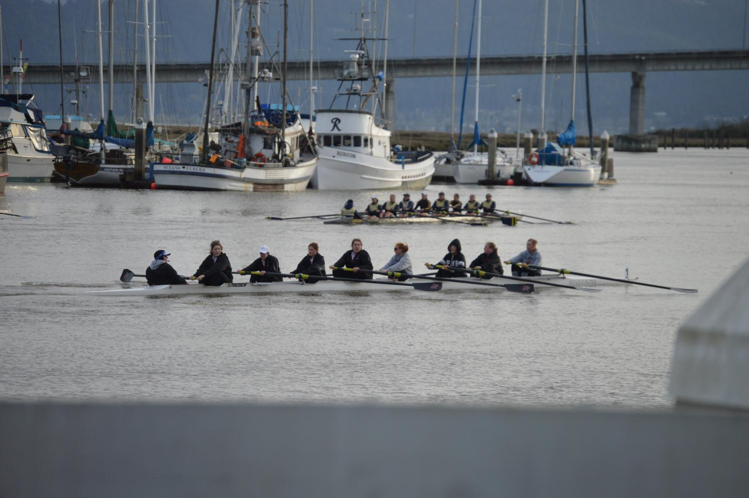 The Pacific women's rowing team has struggled with numbers in the past, but found a solid core of rowers for their upcoming season.