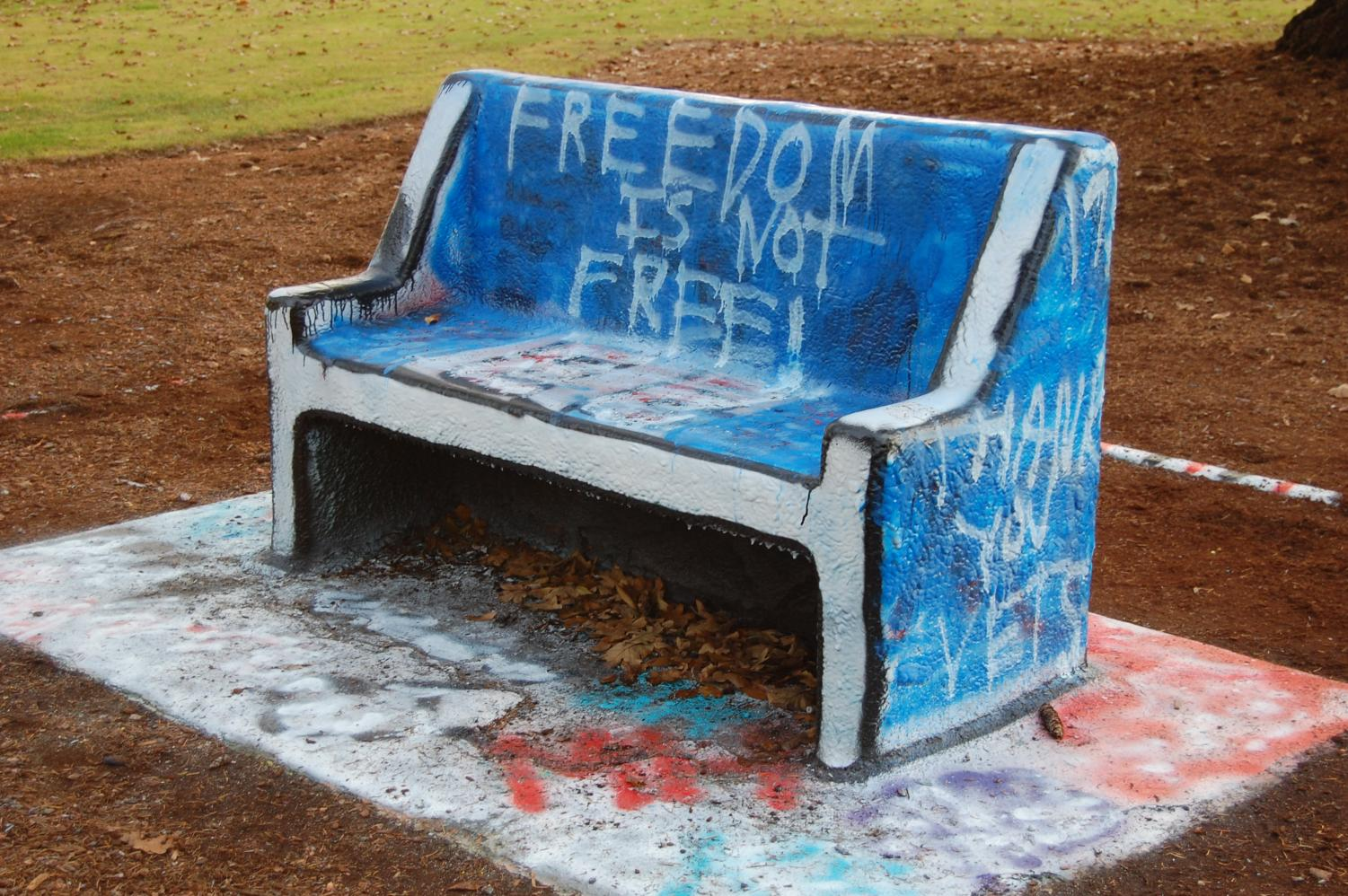Pacific's Greek Life developed the wild rules for the Spirit Bench.