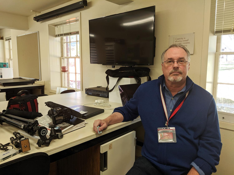 New Photography professor David Brunn