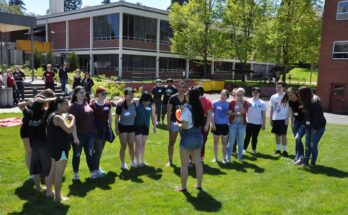 Pacific's sorority hosts the Greek Olympics in 2019