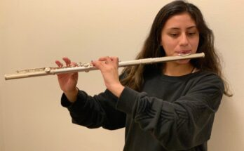 Herrera-Zarate has learned the piccolo, piano, sax alto and baritone, mallet instruments, clarinet, and her main instrument: the flute.