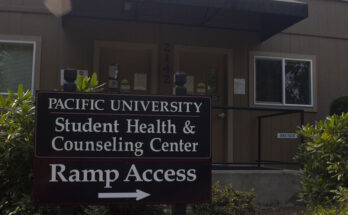 The Student Counseling Center located across the street from Pacific's campus
