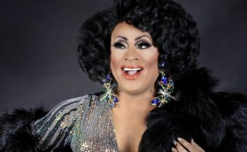 Drag queen Poison Waters hosted April Showers Bring Gay Flowers for CGE